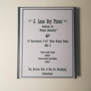 Jason Lane plaque sèche 4″x5″