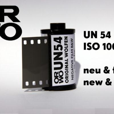 ORWO UN54 Film ISO 100 135