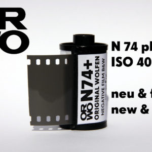 ORWO N74 plus Película ISO 400 35mm