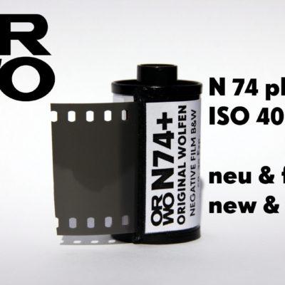 ORWO N74 plus Film ISO 400 135